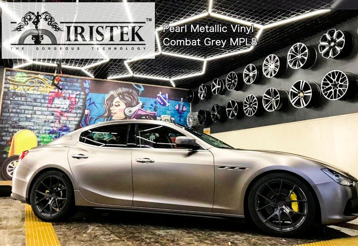 New arrived IRISTEK pearl metallic vehicle wrap vinyl: